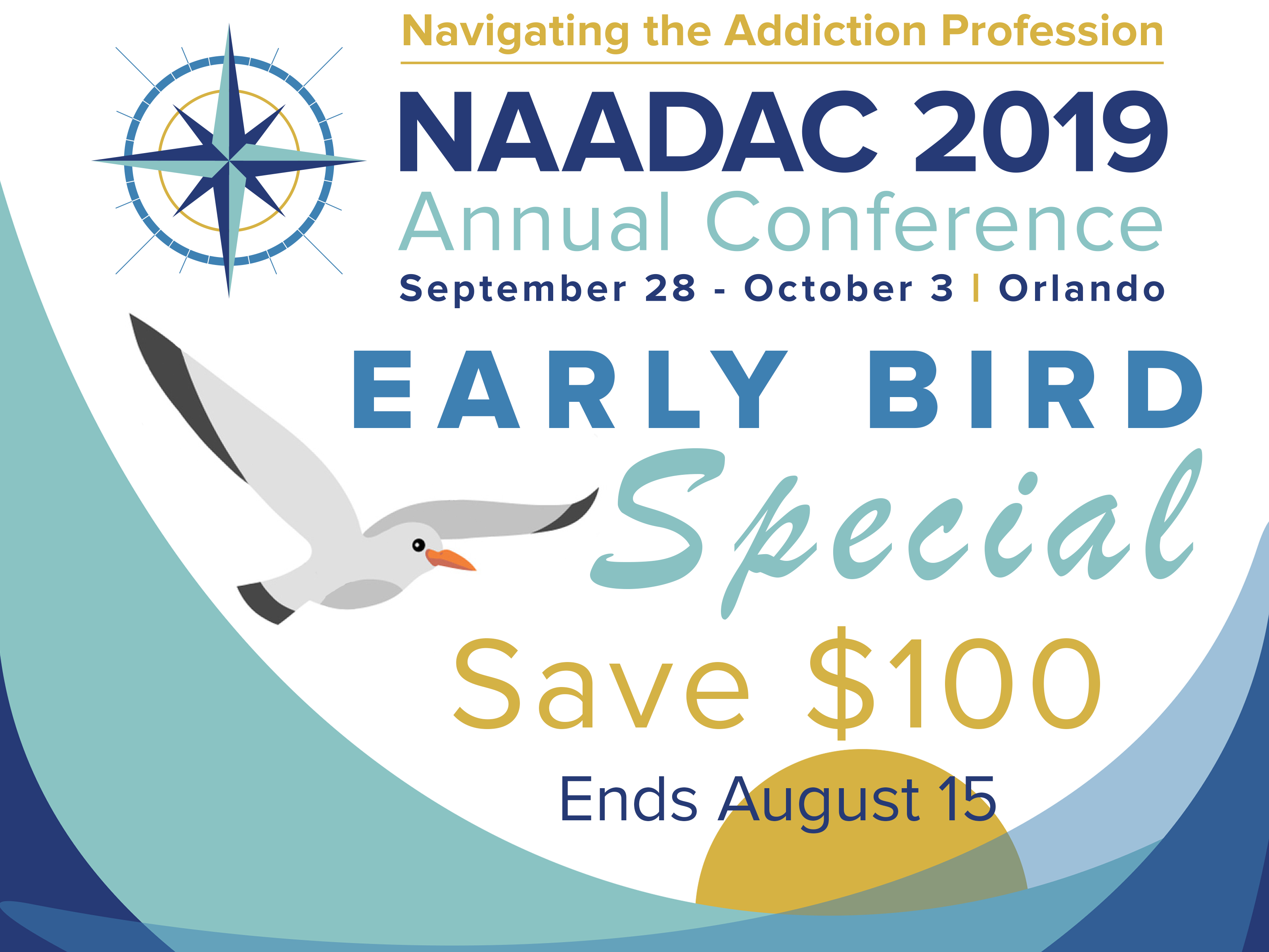 0a6b5a1150b4a Registration is now open for the NAADAC 2019 Annual Conference: Navigating  the Addiction Profession! Register today! Earn up to 43 CEs!
